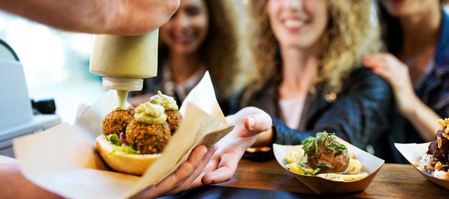 Réserver une prestation de street food