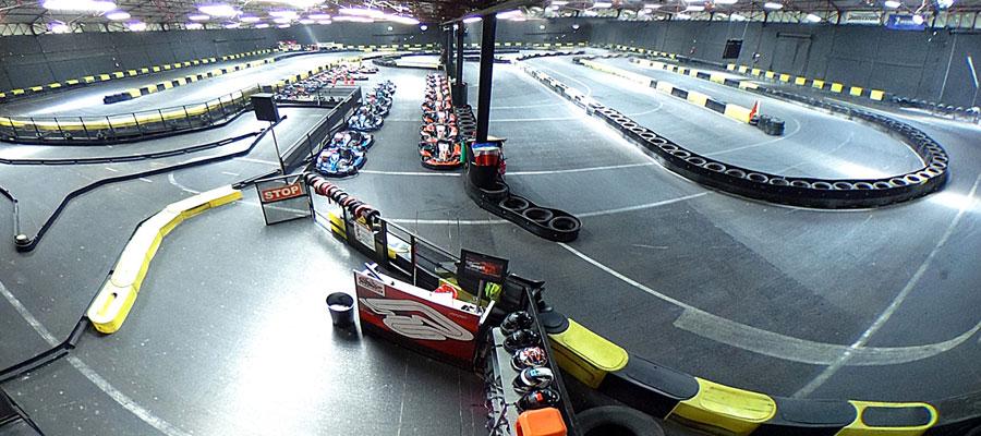circuit de kart indoor à Toulouse